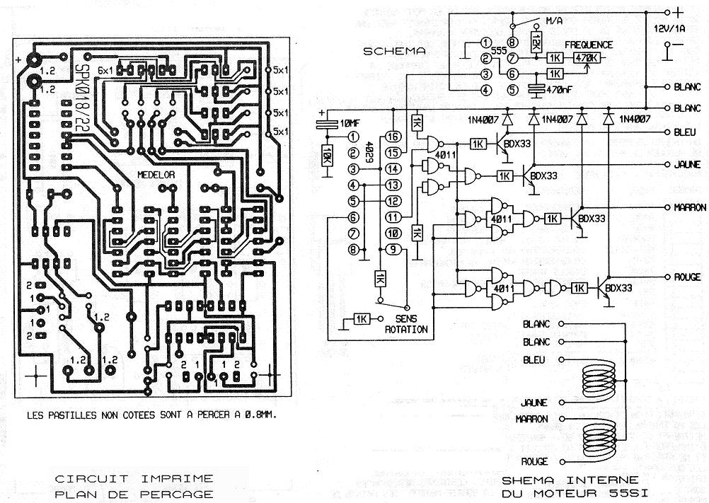 moteur 48 pas 55si commande simplifi u00e9e semelec