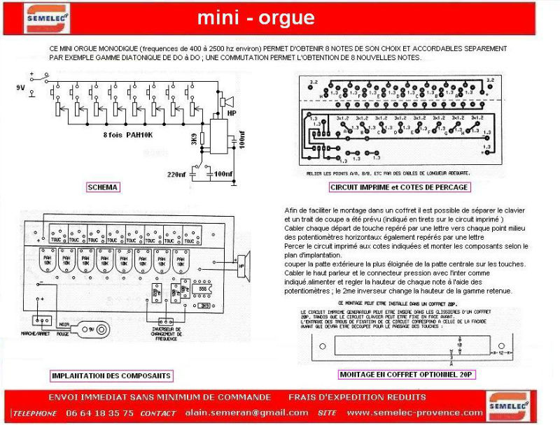 kit mini-orgue